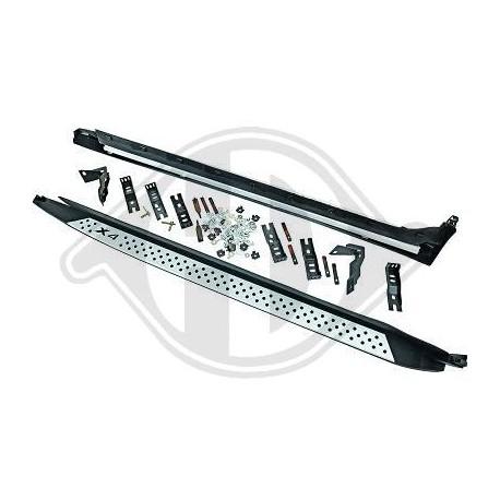 Pedane laterali sottoporta BMW X4 F26 2014-