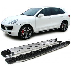 Pedane laterali sottoporta Porsche Cayenne II 2010-
