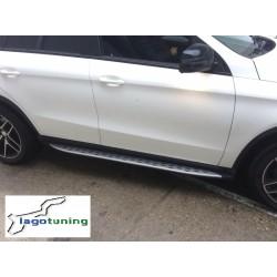 Pedane laterali sottoporta Mercedes GLE Coupe C292 2015-