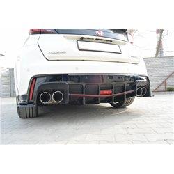 Estrattore sottoparaurti posteriore Honda Civic IX Type R 2015-