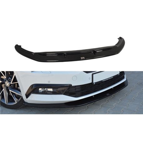 Sottoparaurti splitter anteriore Skoda Superb III 2015-