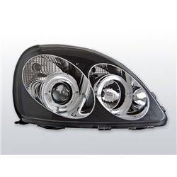 Fari Angel Eyes Toyota Yaris 99-03 Neri