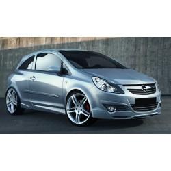 Paraurti anteriore Opel Corsa D