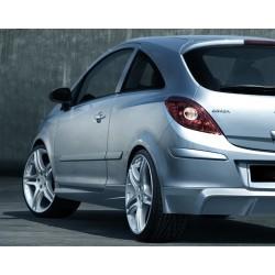 Minigonne laterali sottoporta Opel Corsa D
