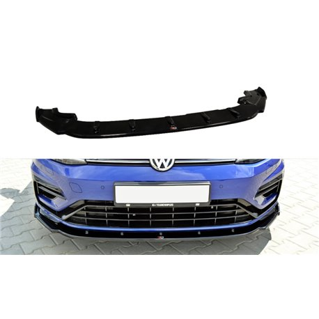 Volkswagen Golf VII R2017- Splitter sottoparaurti anteriore