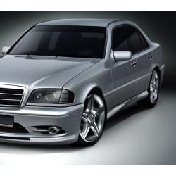 Minigonne laterali sottoporta Mercedes Classe C W202