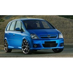 Minigonne laterali sottoporta Opel Meriva