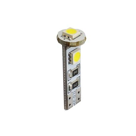 Diodo LED L324 W5W 3xSMD5050 Cambus bianco
