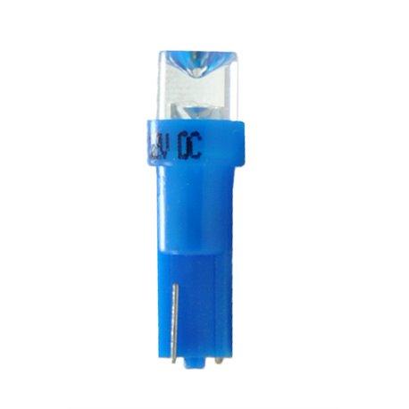 Diodo LED L002 T5 concavo blu