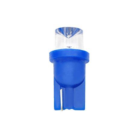Diodo LED L006 W5W concavo blu