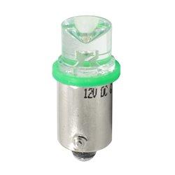 Diodo LED L007 BA9s concavo verde