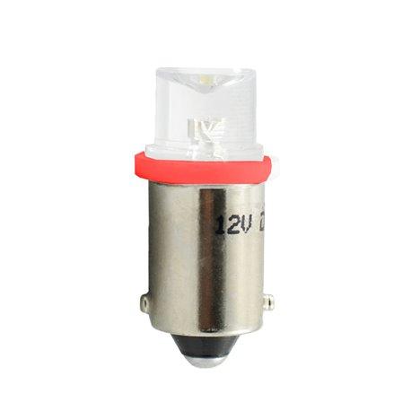 Diodo LED L007 BA9s concavo rosso