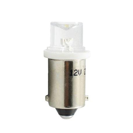 Diodo LED L007 BA9s concavo bianco