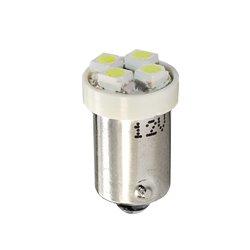 Diodo LED BA9s 4xSMD352 bianco