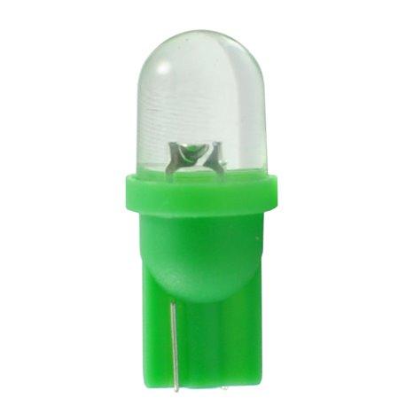 Diodo LED L010 W5W diffusivo verde