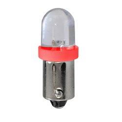 Diodo LED L011 BA9s diffusivo rosso