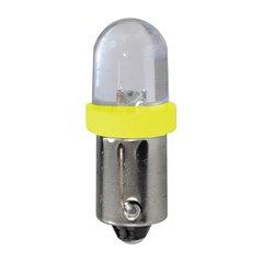 Diodo LED L011 BA9s diffusivo giallo
