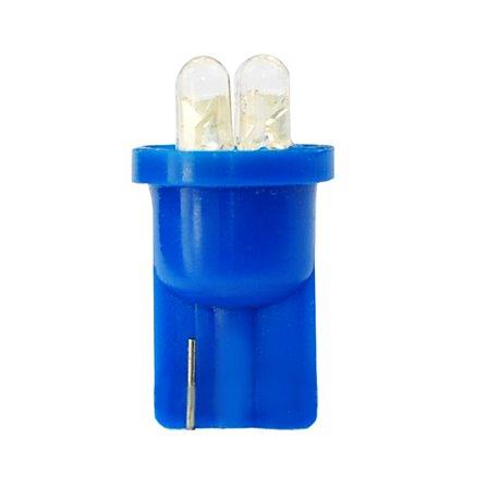 Diodo LED L01 W5W 4LED 3mm blu