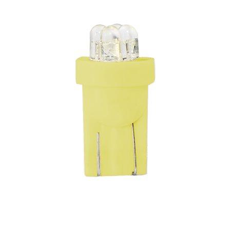 Diodo LED L01 W5W 4LED 3mm giallo