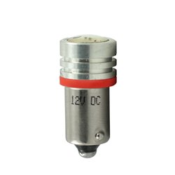 Diodo LED L016 BA9s HP 1W rosso