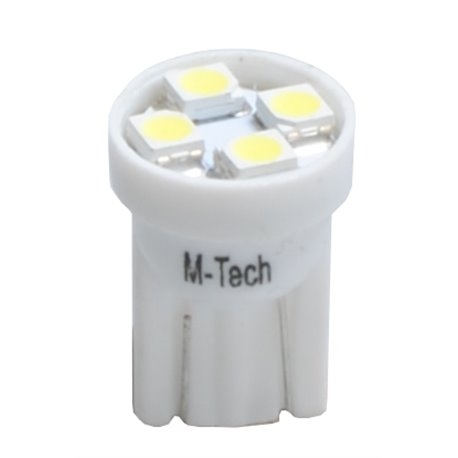 Diodo LED L017 W5W 4xLed bianco