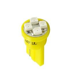 Diodo LED L017 W5W 4xLed giallo