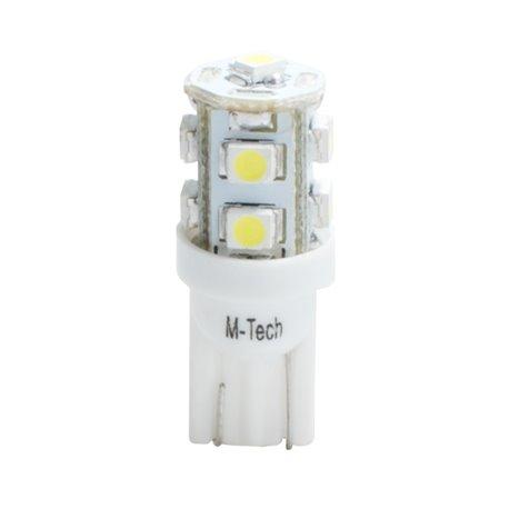 Diodo LED L018 W5W 9xLed bianco