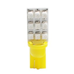 Diodo LED L018 W5W 9xLed giallo