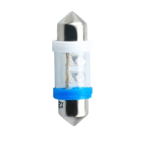 Diodo LED L022 C5W 4LED 3mm blu