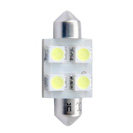 Diodo LED L029 36mm 4xSMD5050 verde