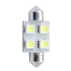 Diodo LED L029 36mm 4xSMD5050 giallo
