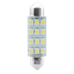 Diodo LED L030 C5W 41mm 12xSMD3528 blu