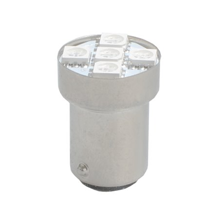 Diodo LED L037 BAY15d 5xSMD5050 bianco
