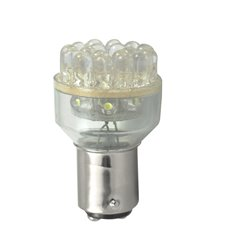 Diodo LED L038 BAY15d 24LED 5mm bianco