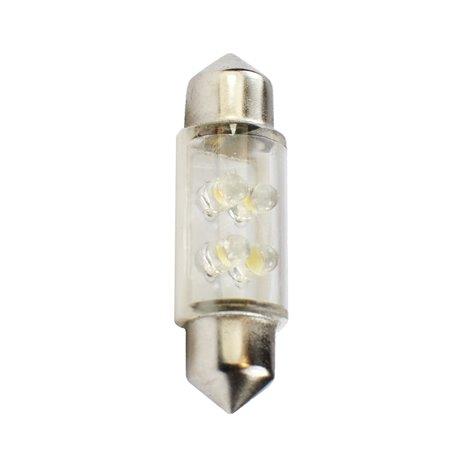 Diodo LED L046 C5W 4LED 3mm bianco