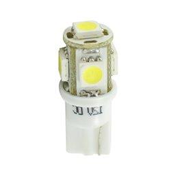 Diodo LED L054 W5W 5xSMD5050 bianco
