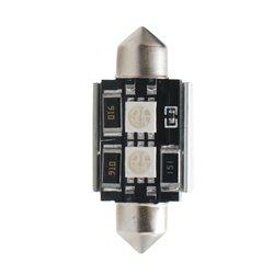 Diodo LED L305 C5W 36mm 2xSMD5050 CANBUS blu