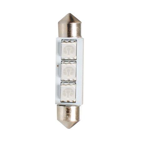 Diodo LED L307 C5W 41mm 3xSMD5050 CANBUS blu