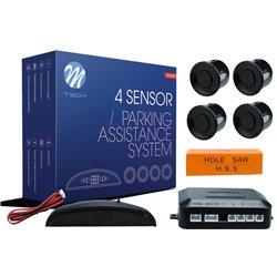 Kit sensori di parcheggio CP4 21,5mm 4X nero