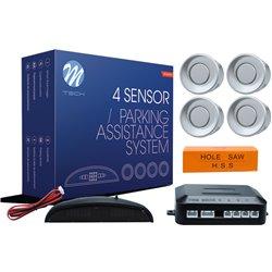 Kit sensori di parcheggio CP4 21,5mm 4X argento