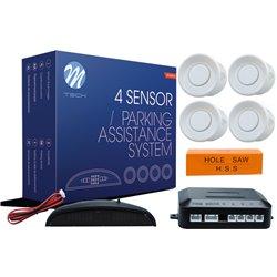 Kit sensori di parcheggio CP4 21,5mm 4X bianco