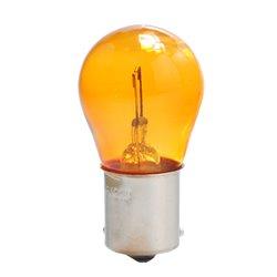 Lampada alogena M-TECH BAU15s 21W 12V Arancione