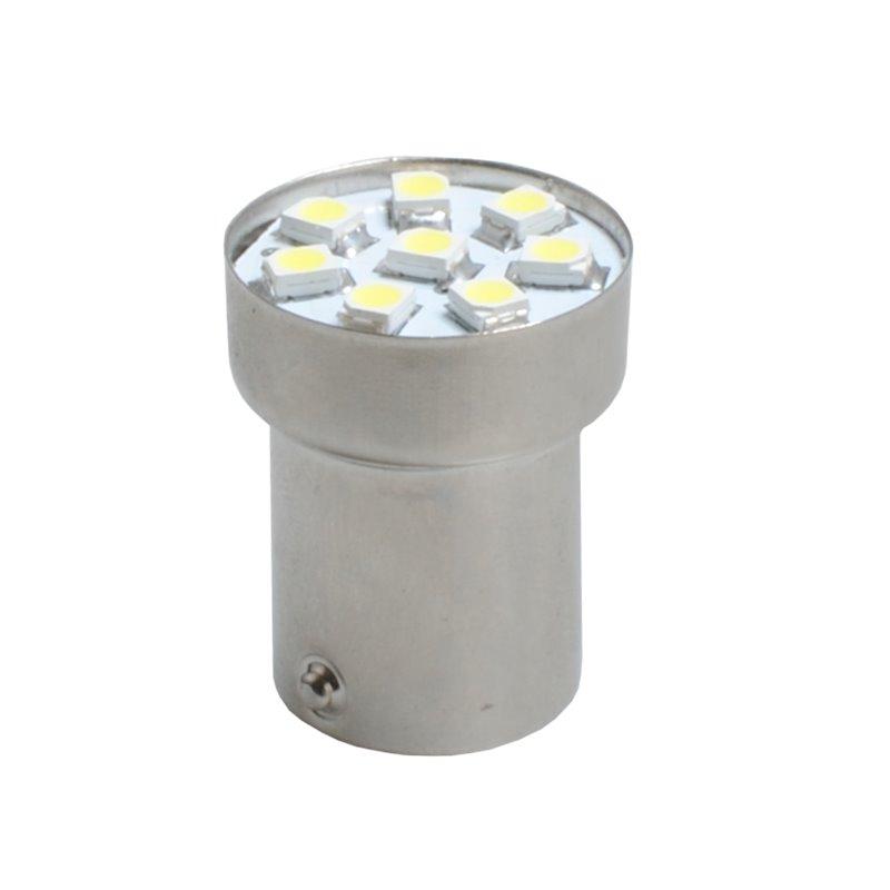 Diodo LED L312 W5W 8xSMD3528 Canbus bianco