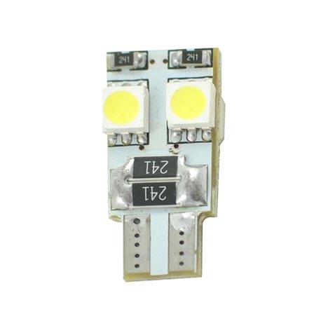 Diodo LED L313 W5W 4xSMD5050 Canbus bianco
