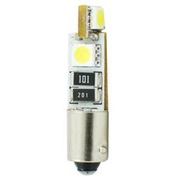 Diodo LED L316 Ba9s 4xSMD5050 CANBUS bianco