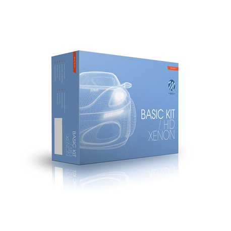 Kit di conversione Xenon Basic H4 6000K