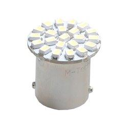 Diodo LED L051 BA15s 6xSMD3020 bianco