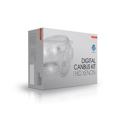 Kit di conversione Xenon Canbus H4 5000K