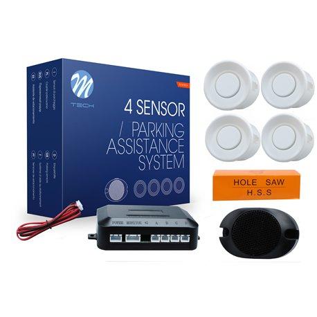 Kit sensori di parcheggio CP7 21,5mm 4X bianco