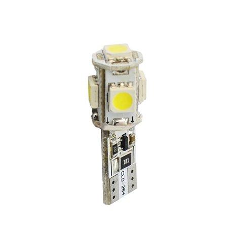 Diodo LED L321 W5W 5xSMD5050 Canbus bianco
